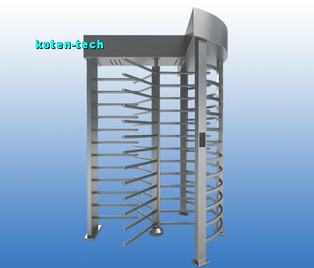 Electronic Full Height Turnstile